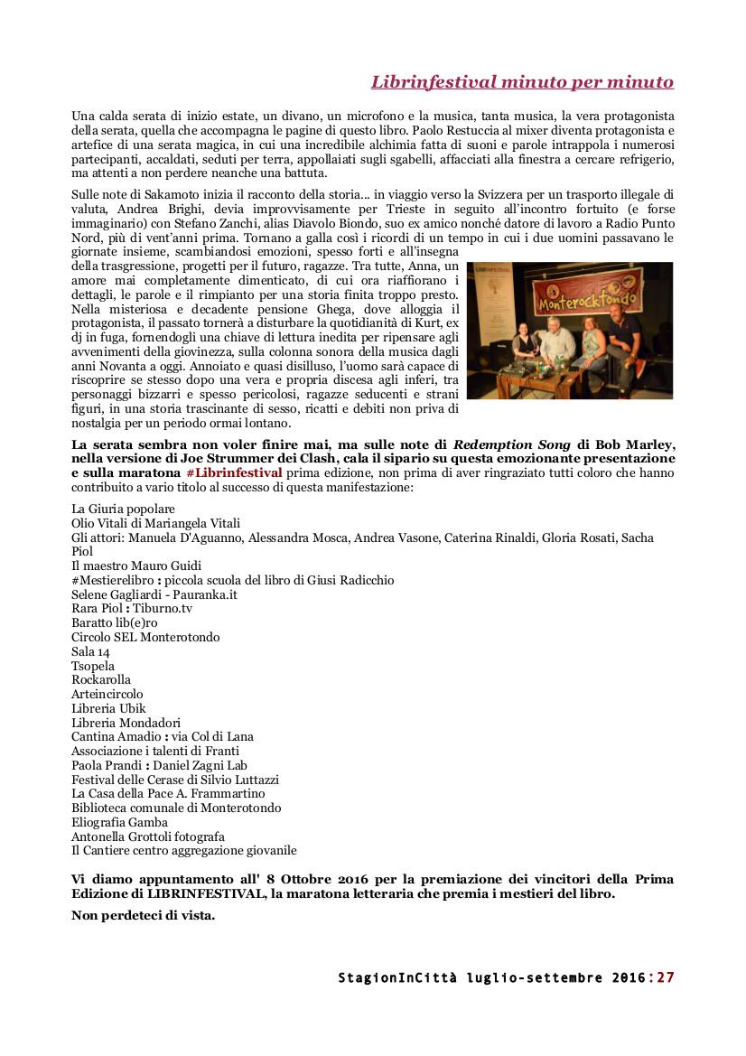 #Librinfestival, #mestierelibro, StagionInCittà