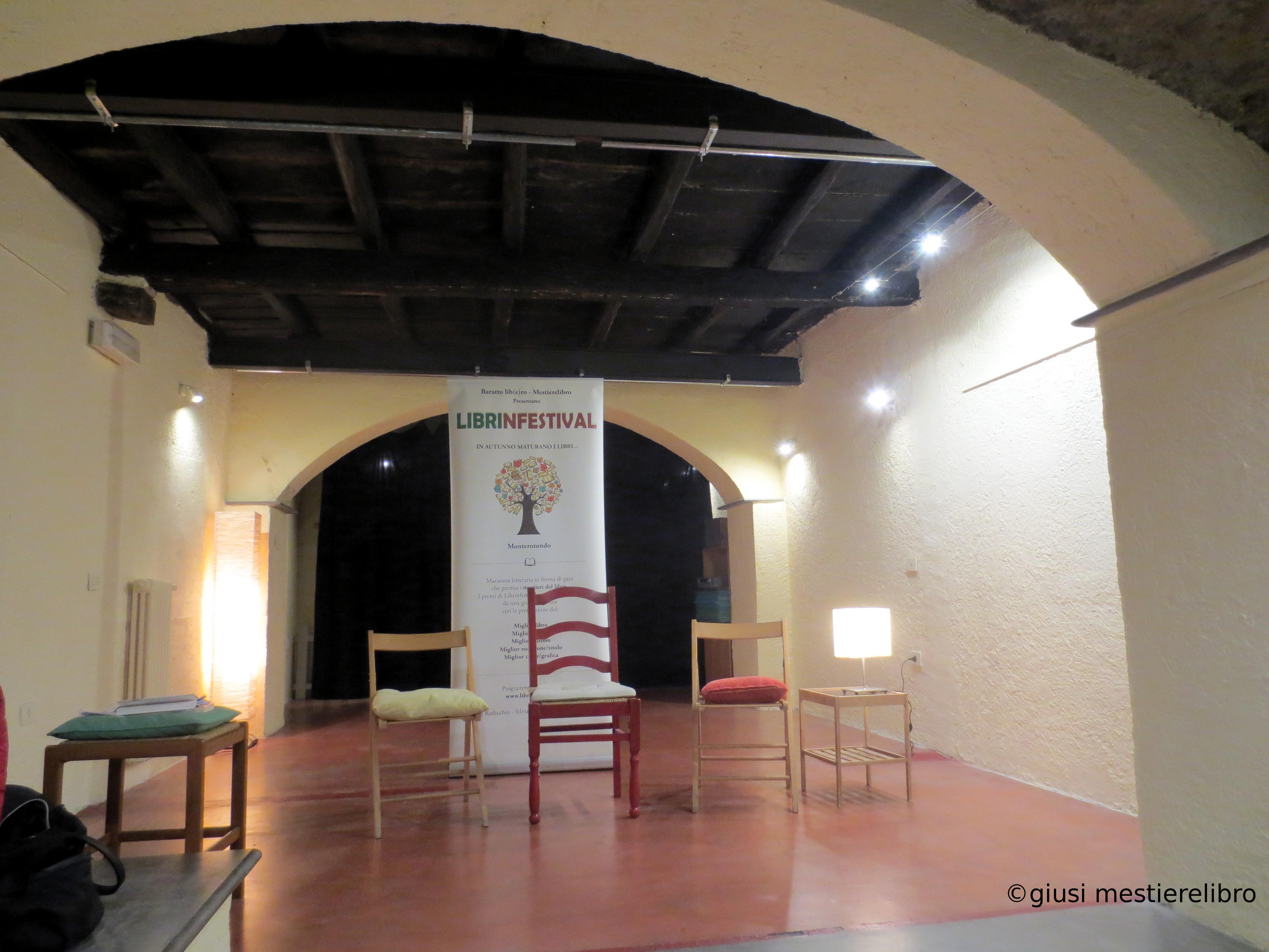 #Librinfestival, M.Cristina Mannocchi, La trama dell'invisibile, Sala 14