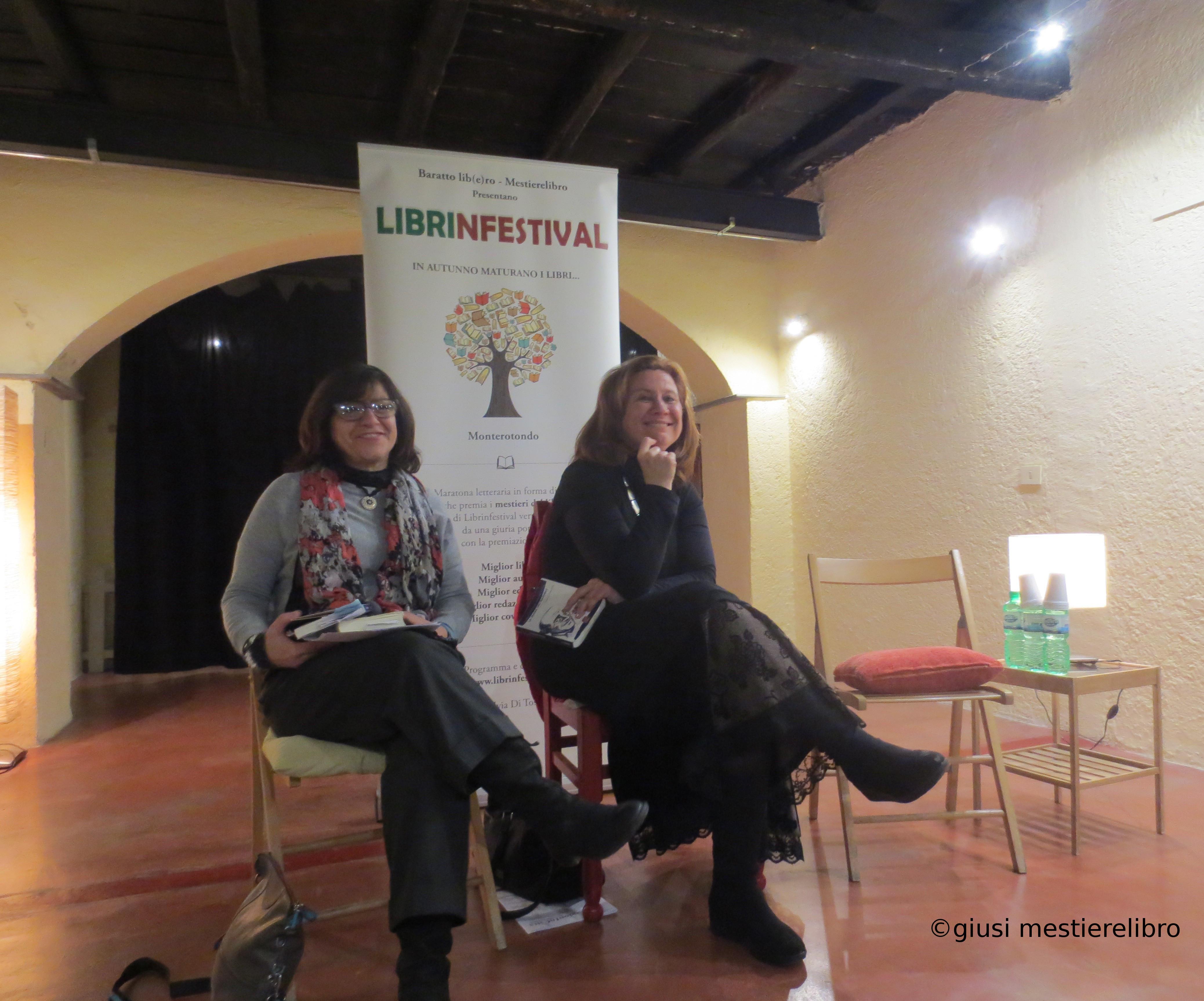 #Librinfestival, La trama dell'invisibile, M.Cristina Mannocchi