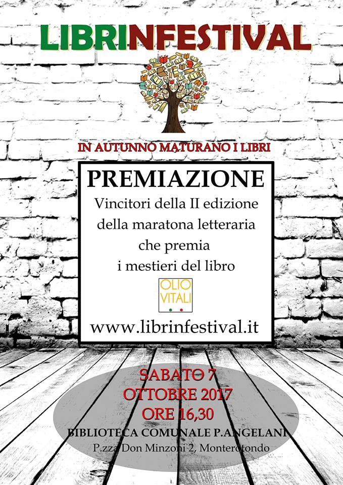 #Librinfestival, premiazione II edizione