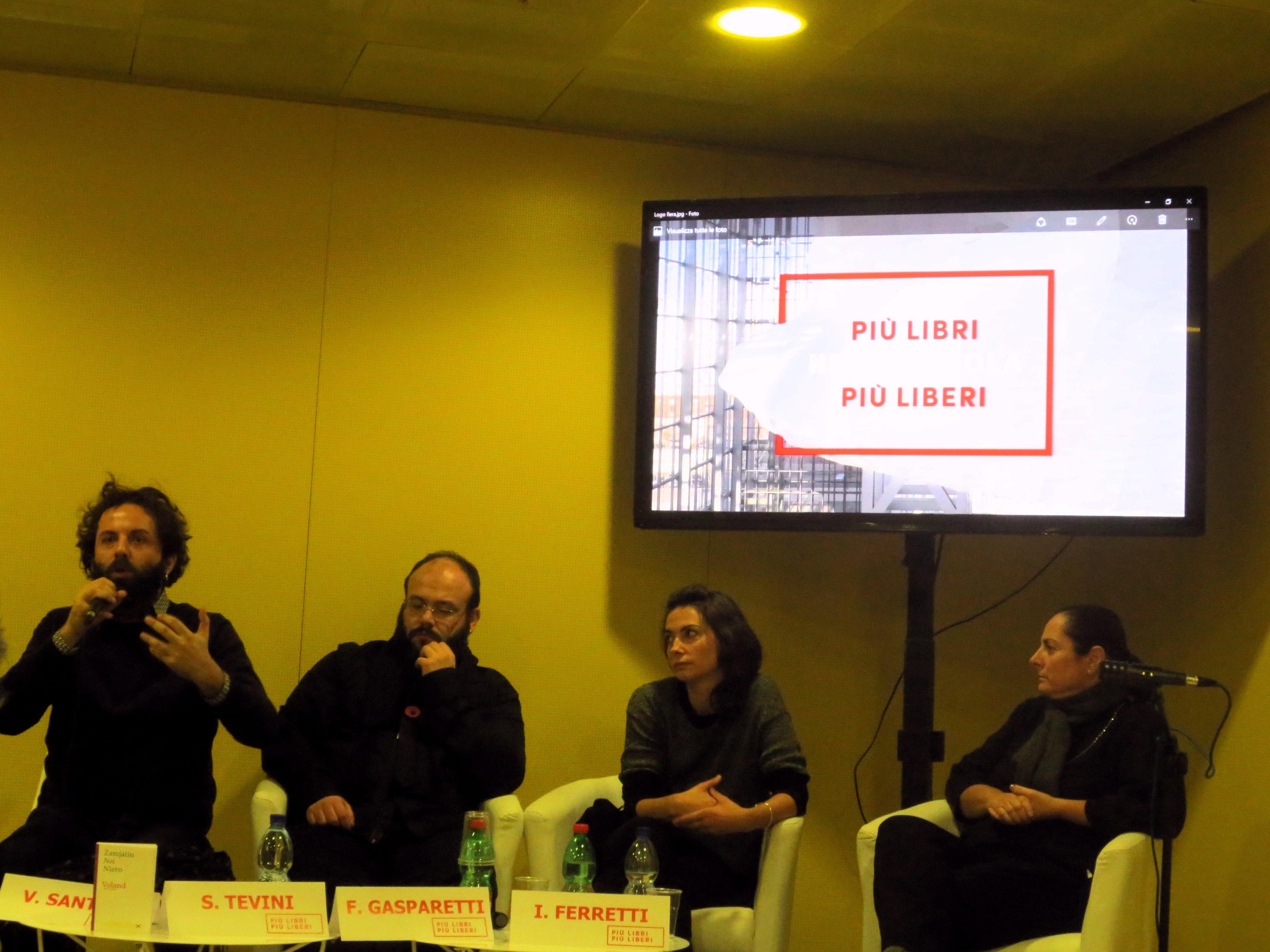 Stefano Tevini, Safarà Editore, Vanni Santoni