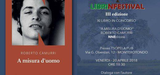 A misura d'uomo, Roberto Camurri , NN Edizioni, Librinfestival i