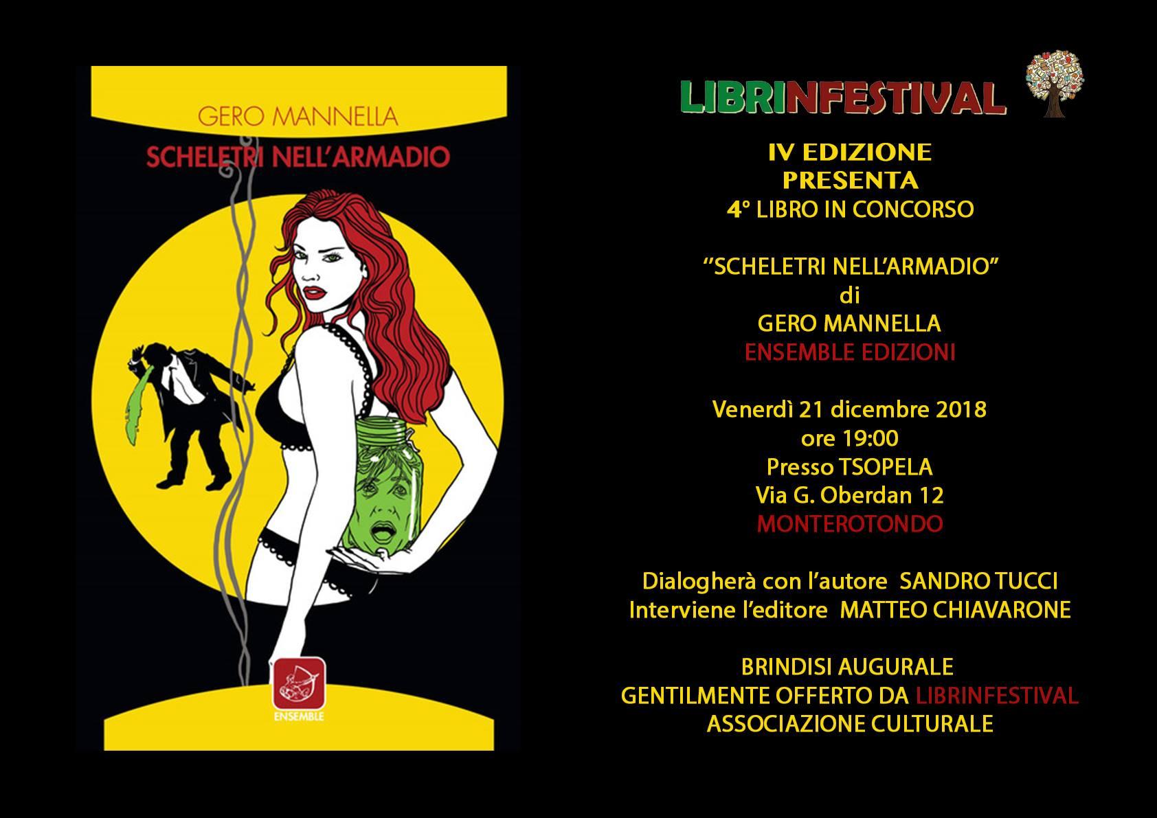 Scheletri nell'armadio, Gero Mannella, Ensemble Edizioni, Tsopela