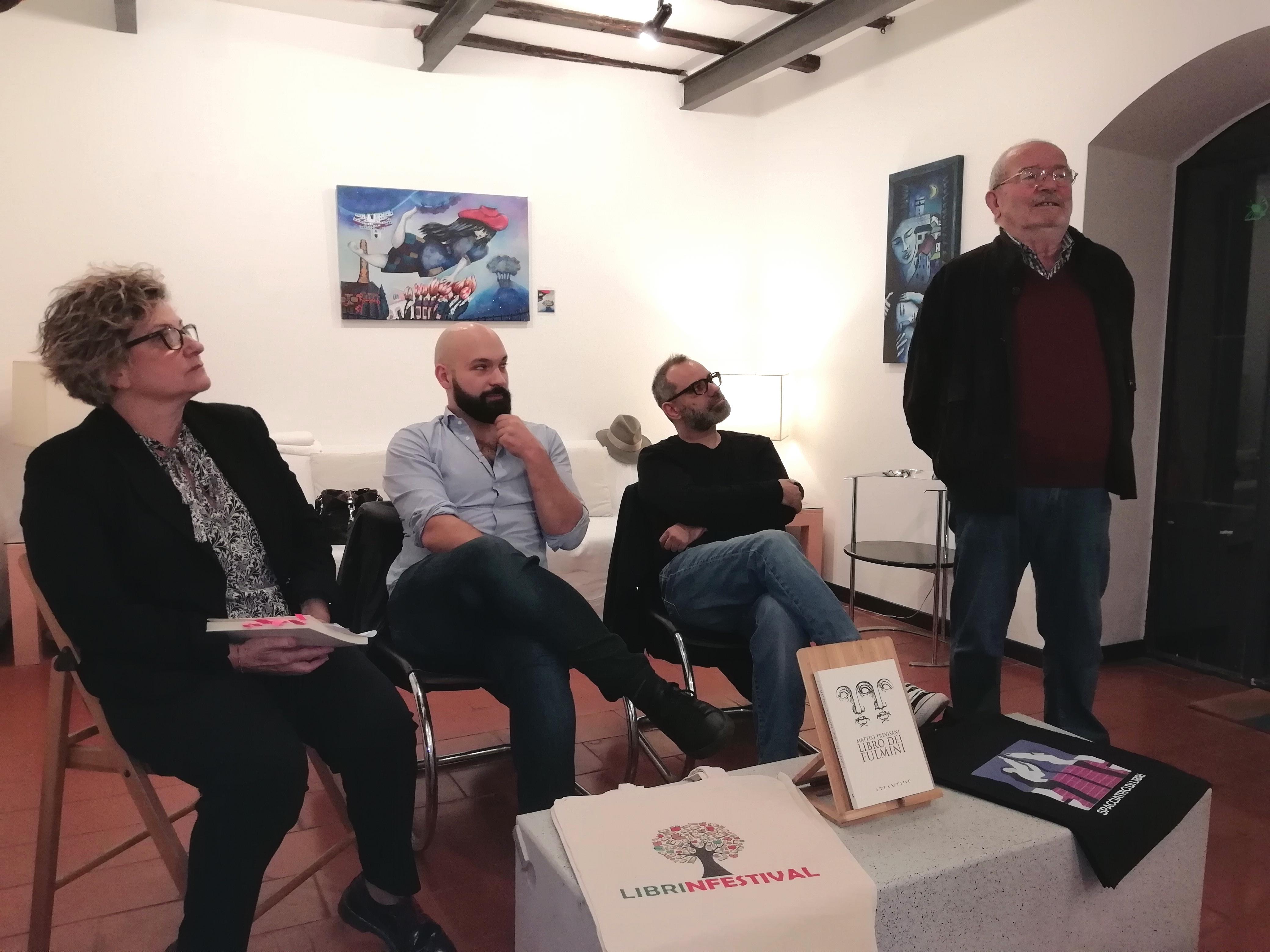 Matteo Trevisani, Edizioni di Atlantide, #Librinferstival, Libro dei fulmini, Silvia di Tosti, Grafica Campioli