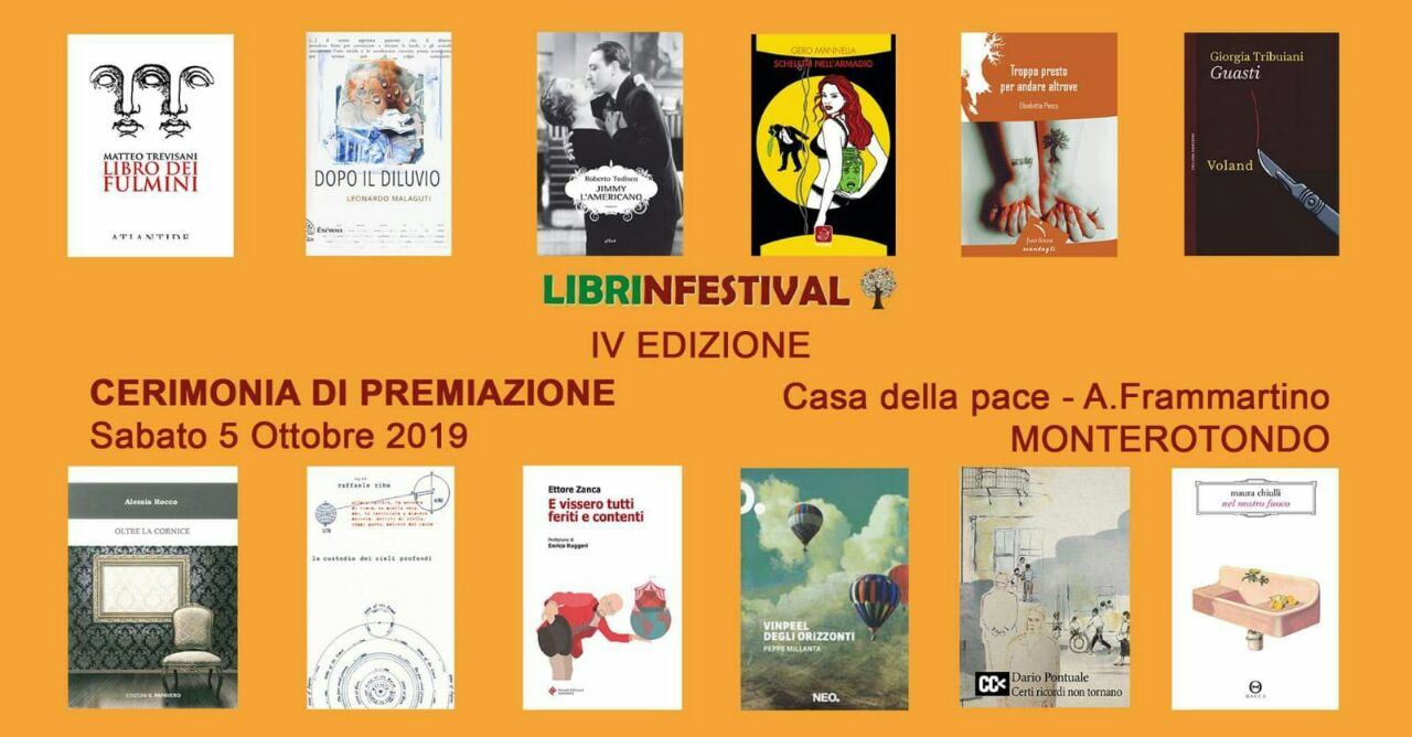 #Librinfestival, Cerimonia di Premiazione, IV Edizione, #mestieredeilibri