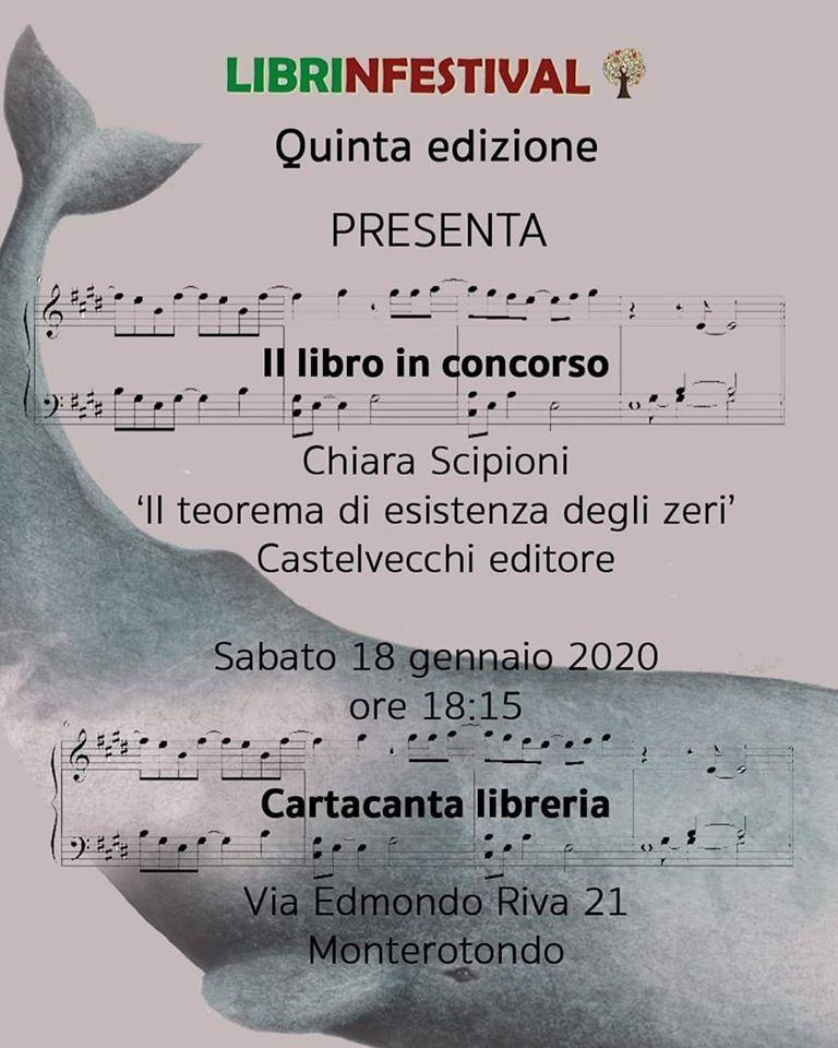 Il teorema di esistenza degli zeri, Chiara Scipioni, Fabrizio Moscato, Castelvecchi Editore,#Librinfestival