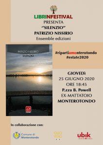 Silenzio, Patrizio Nissirio, Ensemble, #Librinfestival